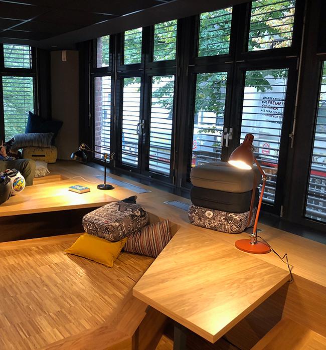 Lounge der StBiB Köln-Kalk