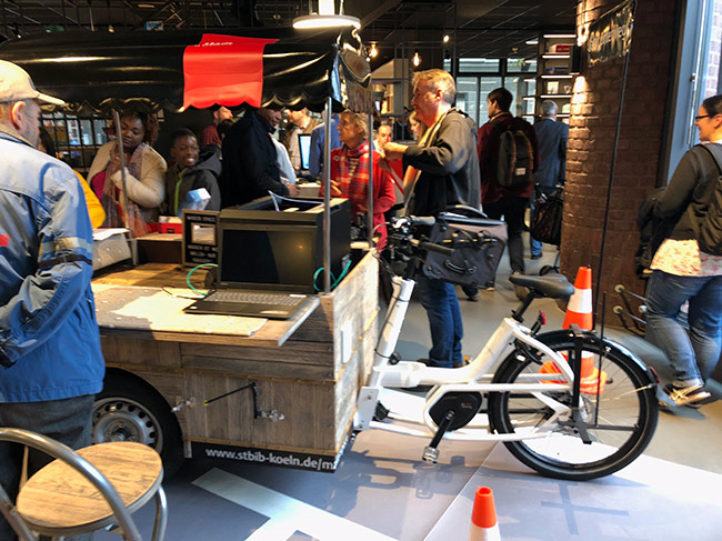 Mobiler Makerspace (Fahrrad)