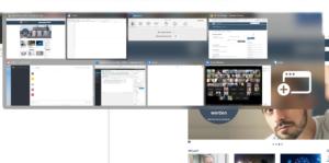 Bildschirmfoto: AltTab-Fensterwechsler