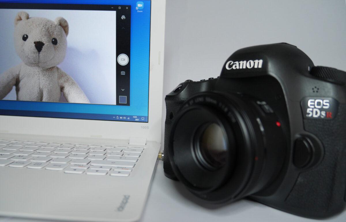 Digitale Systemkameras und Spiegelreflexkameras als Webcam für Videokonferenzen und zur Lehrvideoproduktion nutzen